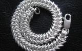 925 Silver Box Chain Bracelet 32,3 g