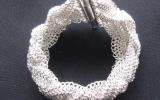 925 Silver Braided European 4 in 1 Bracelet