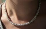925 Silver Medium Byzantine Necklace 56,2 g