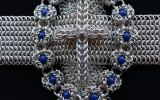 Chainmaille models in cross e1