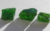 Diopside stones
