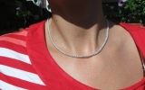 925 Silver Jens Pind Necklace