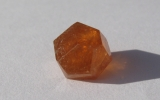 Orange spessartite garnet