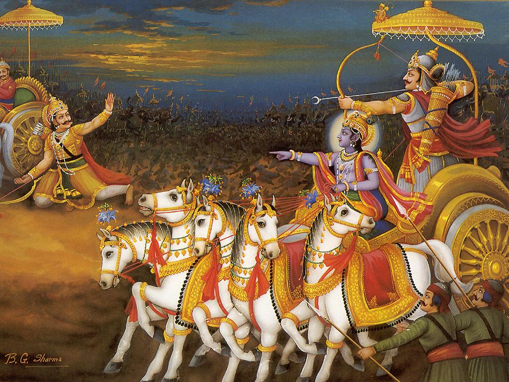 Krishna in the Mahabharata