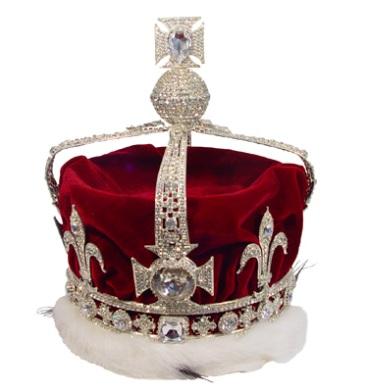 Queen Elizabeth crown with the Koh-i-Noor diamond