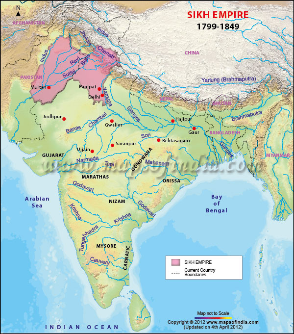 Sikh Empire1799-1849