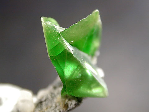 Rough sphene from Ural Mts., Russia