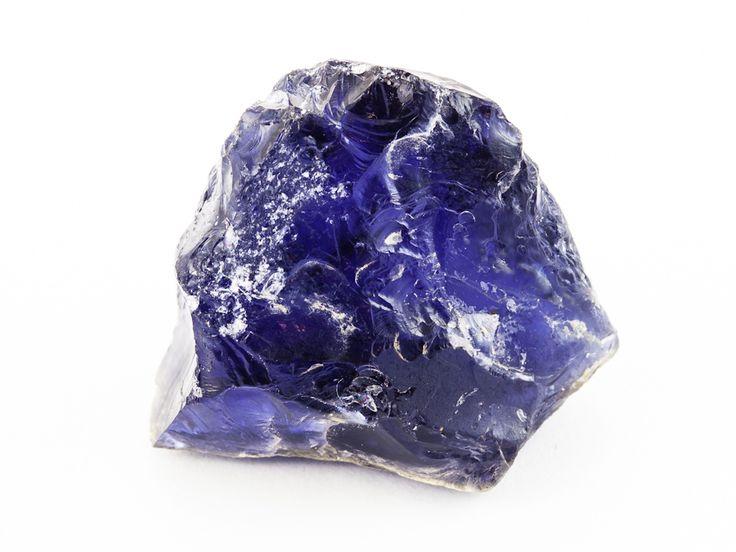 42.75ct raw iolite
