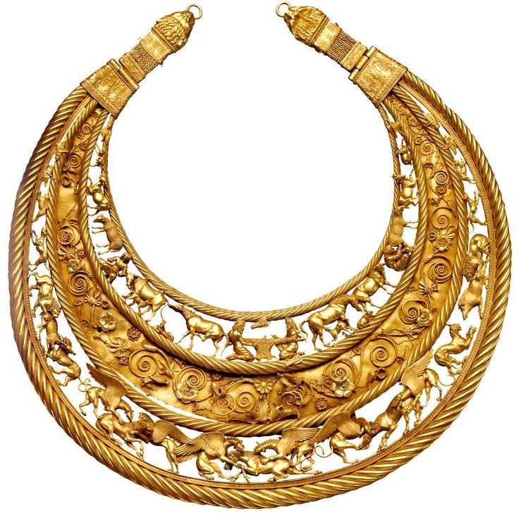 The Scythian Gold Pectoral from Tovsta Mohyla