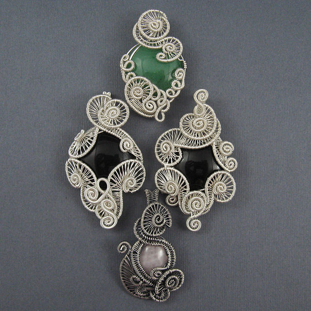Chainmaille and Wire Wrapped Jewelry Findings no. 2