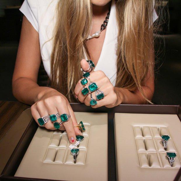 Fine emerald rings