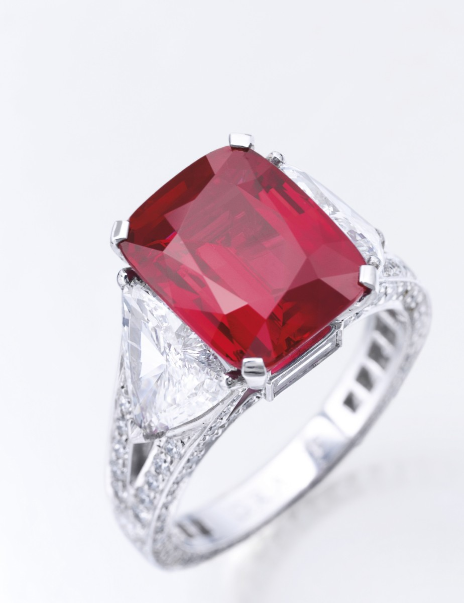 The Graff Ruby Ring